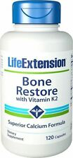 Bone Restore Repair Capsule with Vitamin K2 & Superior Calcium Formula, 120 Caps