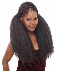 Kinky Twist 100% Kanekalon Braiding Marley Reggae Braid Synthetic Extension Hair