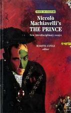 Texts in Culture MUP: Niccolo Machiavelli's the Prince : New...