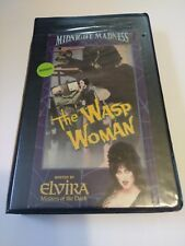 The Wasp Woman VHS Elvira Midnight Madness Horror 1991 Rhino Video
