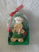 New Kurt S Adler Gingerbread Ornament & Cookie Cutter  With Recipe Cookie Kit
