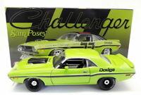 Acme 1/18 Scale Diecast - A1806001B 1970 Dodge Challenger Trans Am Plain Body