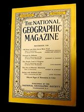 November, 1948 National Geographic Magazine, The Fire of Heaven Electricity
