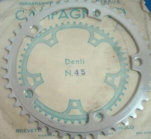 Campagnolo 45Tx144BCD 753/a Super Record Road Chainring- NEW Vint -5>9-Spd- NIB