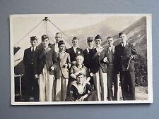 R&L Photo: Circa 1930's Group Photo, Royal Navy Sailor from HMS Malaya