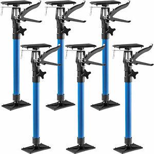6 x frame struts, frame clamps, door frame struts, telescopic rod 50-115cm