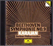 Herbert von KARAJAN BEETHOVEN Symphony No.9 Perry Baltsa Cole Van Dam DG CD 1984