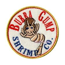 Forrest Gump Shrimp Co Logo Embroidered Patch Bubba Tom Hanks Lieutenant Dan