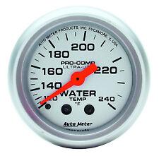 "Auto Meter 4332 Ultra-Lite Mechanical Water Temperature Gauge 2 1/16"" (52mm)"
