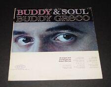 Jazz Soul LP BUDDY GRECO Epic PROMO Vinyl BEBOP Swing BIG BAND