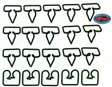 "Chrysler 1"" Fender Side Belt Vinyl Top Moulding Molding Trim Clips Clip 20pc K"