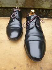 DUNHILL DERBY SHOES – BLACK – UK 6.5 – VERY GOOD CONDITION - GOOD FOR CHURCH