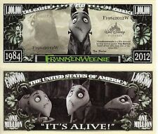 Frankenweenie Million Dollar Novelty Money