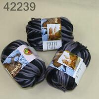 AIPYARN Sale 3Ballsx50g Soft Cotton Chunky Super Bulky Hand Knit Crochet Yarn 39