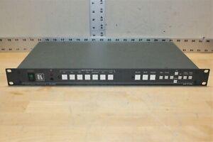 Kramer Presentation Switcher/Scaler VP-719xl 7-Input Proscale Tested Working