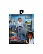 "Bob Ross – 8"" Clothed Action Figure – Bob Ross- NECA"