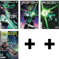 FAR SECTOR #1,2,3++ Variant, Incentive, Exclusive+ ~ Jamal Campbell ~ DC Comics