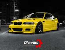 BMW E46 M3 coupe/cabrio pandem style wide body kit. TÜV material report.