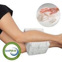 Back Leg Support Pillow Knee Wedge Lumbar Surgery Office Memory Foam Orthopedic