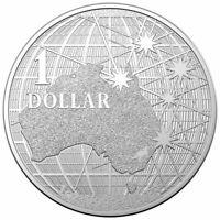 2020 Australia $1 1 oz Silver Beneath the Southern Skies Coin Gem BU