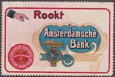F-Ex14476 Holland Cinderella 70x45mm Netherland Amsterdamsche Bank