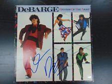 """DeBarge"" El DeBarge Hand Signed Album Cover PAAS COA"