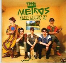 (I194) The Metros, Talk About It - DJ CD
