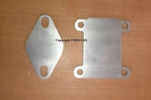 Kit flange INOX chiusura completa valvola EGR Alfa 159 147 156 GT Fiat Croma