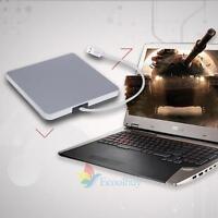 External USB 3.0 Slim DVD RW CD Writer Drive Burner Reader Player For Laptops PC