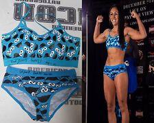 Carla Esparza 2x Signed Invicta FC 7 Fight Weigh In Worn Used Bikini PSA/DNA UFC