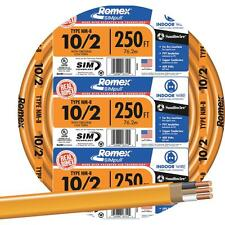 Southwire 250' 10-2 Nmw/G Wire