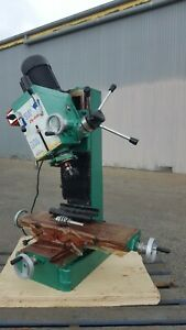 Dovetail Geared Head Milling Drilling Machine 1100W/240V/50HZ (Mill Drill-ZX40A)