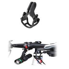 Kit de Soporte Linterna Bicicleta Antorcha Frente Luz Montaje Firme Durable