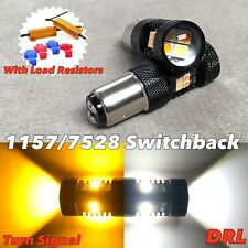 Switchback LED Front signal DRL white amber 1157 1016 BAY15D 7528 94 FOR Kia