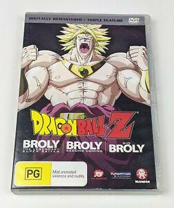 Dragon Ball Z: Broly The Legendary Super Saiyan Second Coming Bio - Region 4 DVD