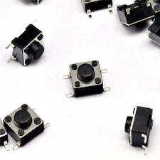 50Pcs 6x6x5mm 4 Pins SMD SMT Momentary Push Button Tact Tactile Switches K9
