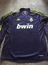 REAL MADRID Away Camicia 2012/13 Player Issue a maniche lunghe numero 17 RARA