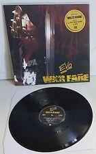 Evo Warfare Black Vinyl LP Record new Lips from Anvil + Fast Eddie Clarke