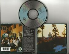 EAGLES Hotel California cd early UK pressing 9 tracks Life in the Fast lane