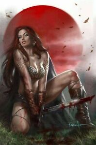 DIE! NAMITE # 1 Lucio Parrillo RED SONJA VIRGIN VARIANT Ltd. to 200 NM++ 9.6/9.8