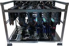 Mining Rig Kit Ethereum, Monero (Open Air Case 6 GPU, PSU, CPU, SSD) NO GPUs