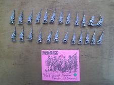 15mm Mini Figs  Seven Years war British Highland Grenadiers w/ Com