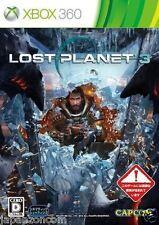 Used Xbox 360 Lost Planet 3 Capcom MICROSOFT JAPAN JP JAPANESE JAPONAIS IMPORT