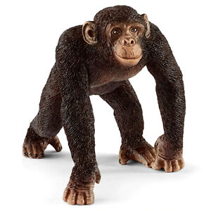 Schleich 14817 - Chimpanzee male - Wild Life Combined Postage possible