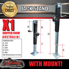 caravan trailer canopy jack stand 3400kg rated heavy duty 600mm extension