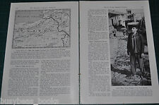 1941 magazine article about Turkey's Russian Frontier, people, history, etc WWII