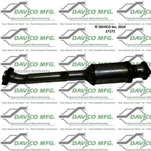 Catalytic Converter-Exact-Fit Rear Right Davico Exc CA 17172