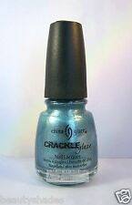 China Glaze Crackle Glaze Nail Polish - Oxidized Aqua