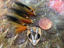 3 V Fly 1/2 Inch RV Super Nordic Cascade Conehead Salmon Tube Flies & Trebles