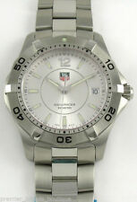 TAG Heuer Men's Silver Strap Wristwatches